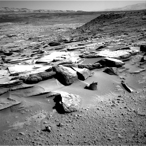 Mars Curiosity Rover Side View - Pics about space