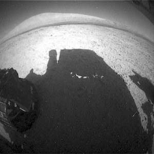 Mars rover Curiosity heading south on the winding road to Kimberley: what the Hazcam saw