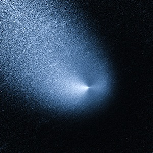 Comet Siding Spring seen by Hubble Space Telescope