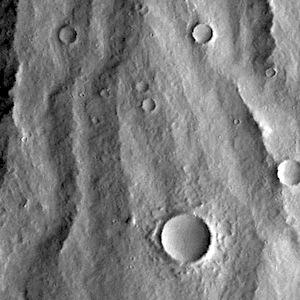 Lava-covered flanks of Apollinaris Mons (THEMIS_IOTD_20141029)