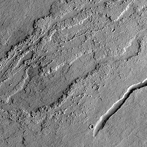 Lava flows near Arsia Mons (THEMIS_IOTD_20141017)