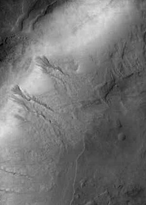 Gullies in Noachis Terra (THEMIS_IOTD_20150326)