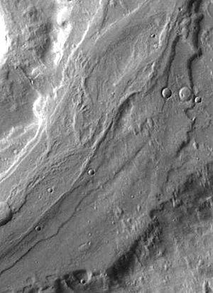Reull Vallis flood channel (THEMIS_IOTD_20150306)