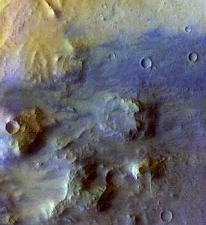 Crater floor in Noachis Terra (THEMIS_IOTD_20140420)