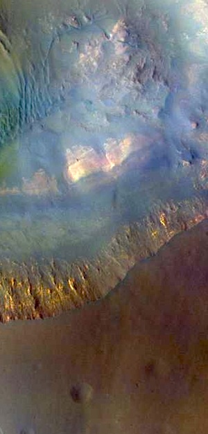 Capri Mensa - false color (THEMIS_IOTD_20150727)