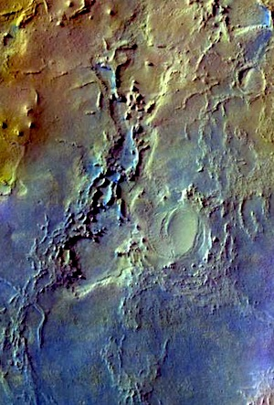Arabia Terra - false color (THEMIS_IOTD_20151009)