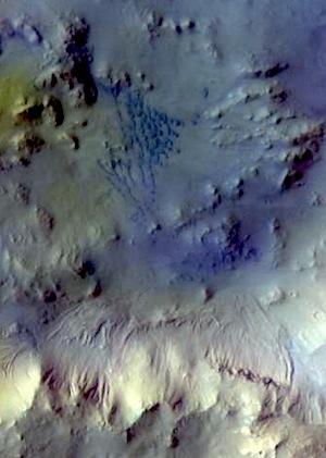 Bamberg Crater dunes (THEMIS_IOTD_20151027)