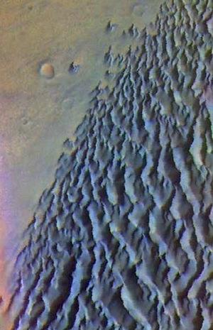 Dunefield in Proctor Crater (THEMIS_IOTD_20151022)