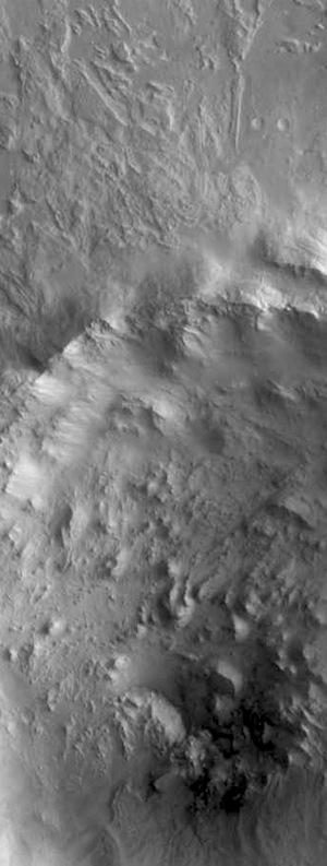 Central pit crater in Terra Sabaea (THEMIS_IOTD_20151113)