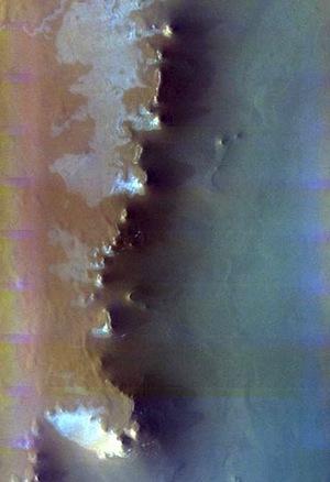 Escorial Crater - false color (THEMIS_IOTD_20151103)