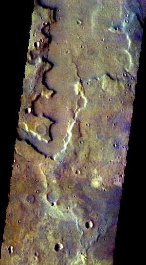 Sirenum Fossae false color (THEMIS_IOTD_20151127)