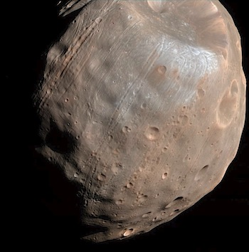 phobos from mars surface - photo #26