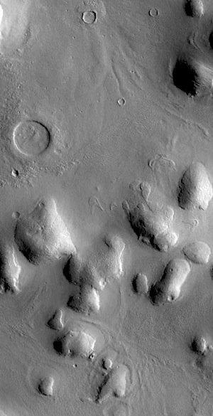 Soft-featured hills of Phlegra Montes (THEMIS_IOTD_20151222)
