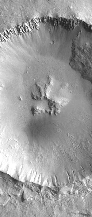 Central pit crater near Elysium Mons (THEMIS-IOTD_20160303)