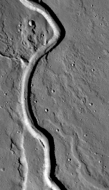 Buvinda Vallis lava channel (THEMIS_IOTD_20160518)