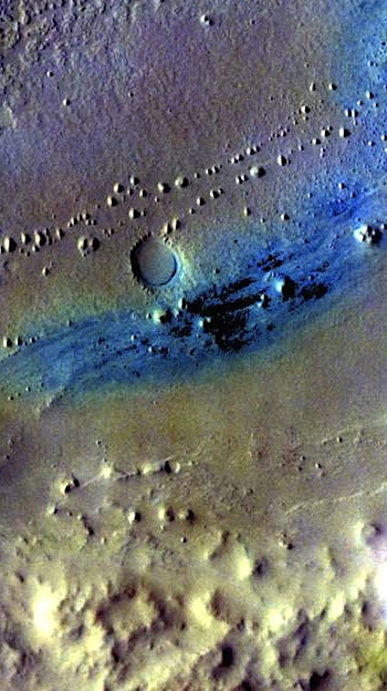 Dunes on Vernal Crater floor (themis_iotd_20160628)