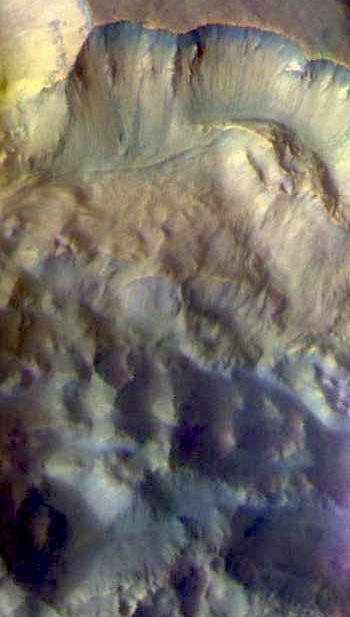 Landslide into Pyrrhae Chaos (THEMIS_IOTD_20160624)
