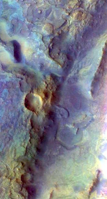 Nilli Fossae possible future rover landing site (THEMIS_IOTD_20160907)
