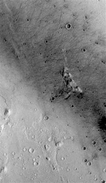 Gusev Crater final home of Spirit rover (THEMIS_IOTD_20161007)