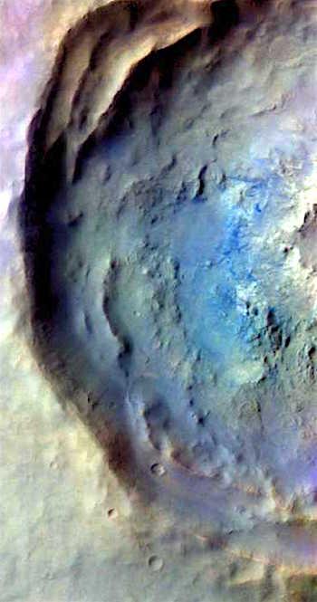 Noachis crater in false color (THEMIS_IOTD_20161020)