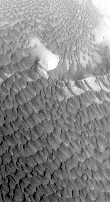 Dune field in Rabe Crater (THEMIS_IOTD_20161206)