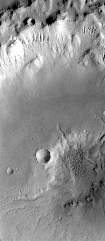 Crater channels gullies and dunes (THEMIS_IOTD_20170125)