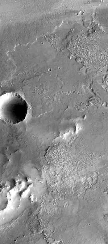 Layers on layers of lava in Daedalia (THEMIS_IOTD_20170126)