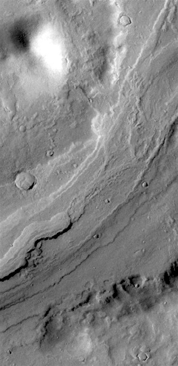 Morning light on Reull Vallis (THEMIS_IOTD_20170127)