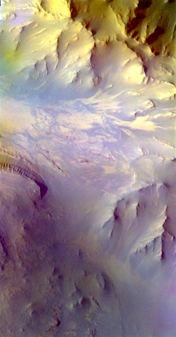 False colors in Coprates Chasma (THEMIS_IOTD_20170209)
