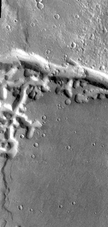 Branching channels of Nirgal Vallis (THEMIS_IOTD_20170302)