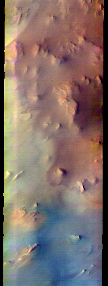 Argentea Planum in false color (THEMIS_IOTD_20170727)