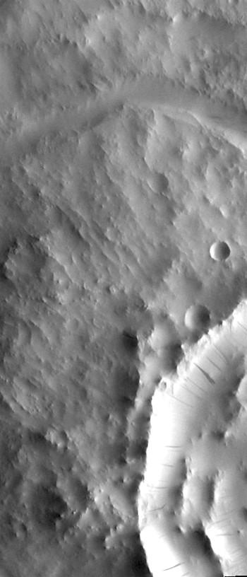 Dark slope streaks in Terra Sabaea (THEMIS_IOTD_20170721)