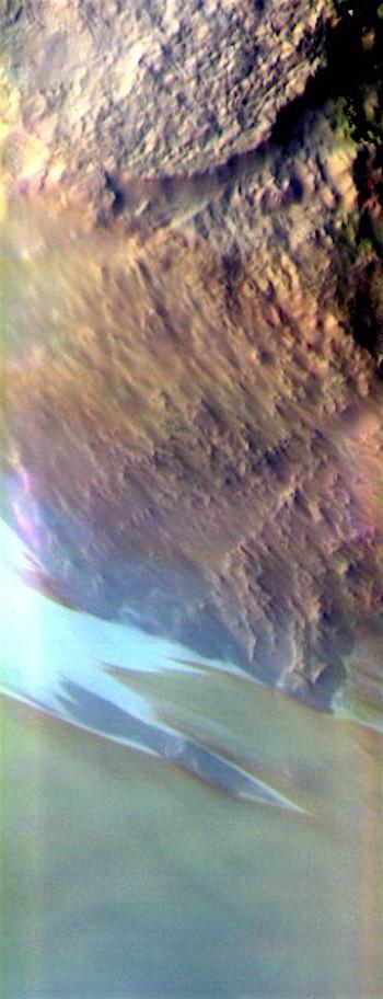 Ice cap and Argentea Planum (THEMIS_IOTD_20170725)