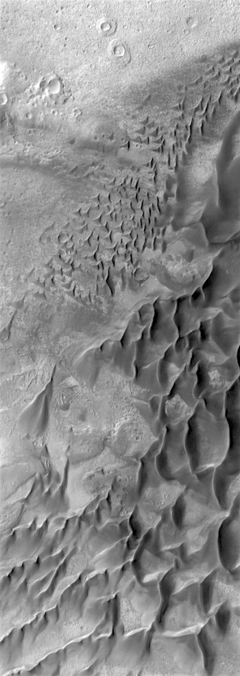 Big and little dunes in Russell Crater (THEMIS_IOTD_20170802)