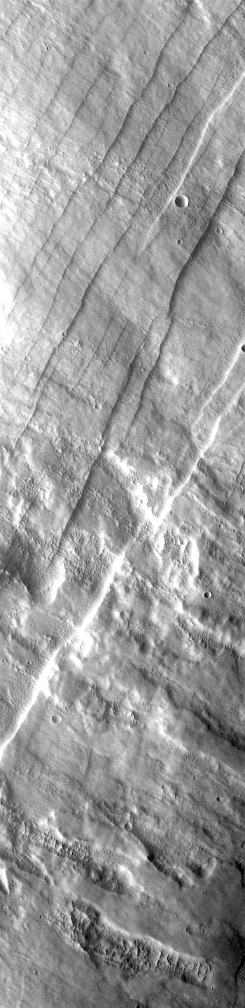 Faults on the flank of Pavonis Mons (THEMIS_IOTD_20171031)