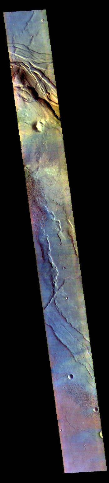 Nili Patera false color (THEMIS_IOTD_20171027)