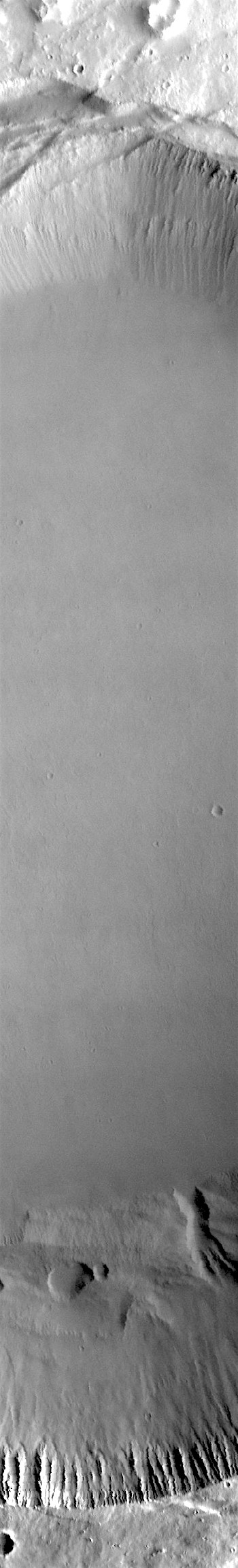 Big wide pit on top of Pavonis Mons (THEMIS_IOTD_20171110)