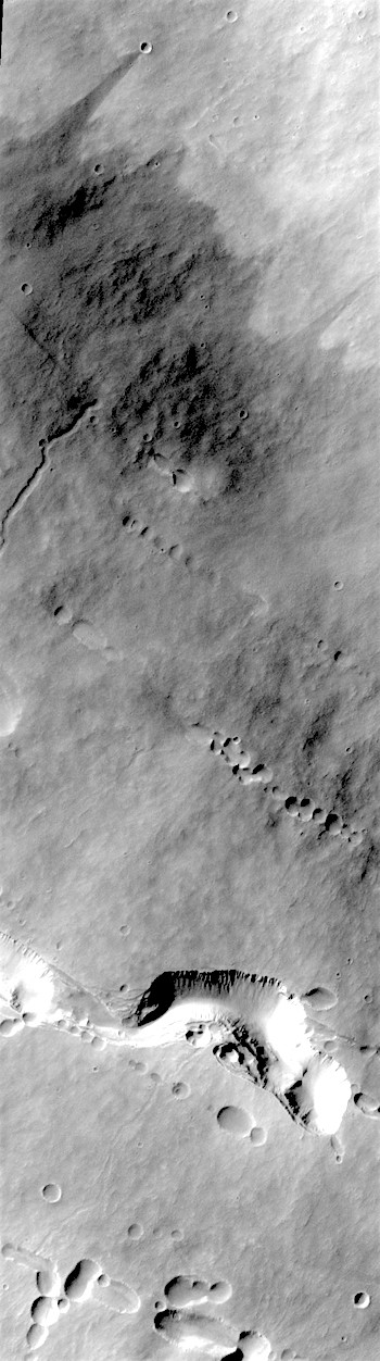 High-volume lava tube on Pavonis Mons (THEMIS_IOTD_20171109)