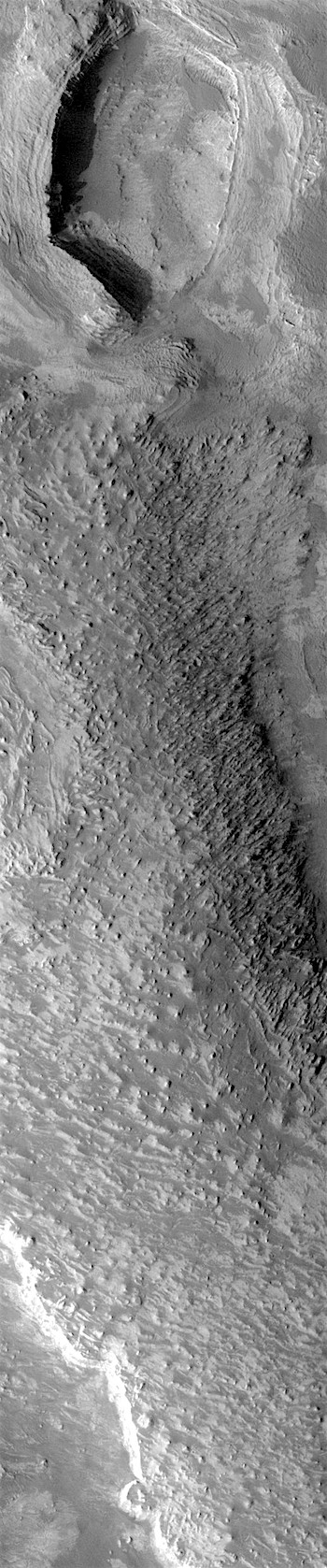 Rough-textured ridge in Melas Chasma (THEMIS_IOTD_20171129)