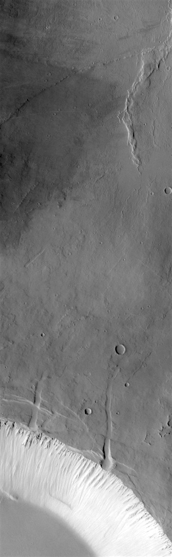 Summit caldera edge on Pavonis Mons (THEMIS_IOTD_20171102)