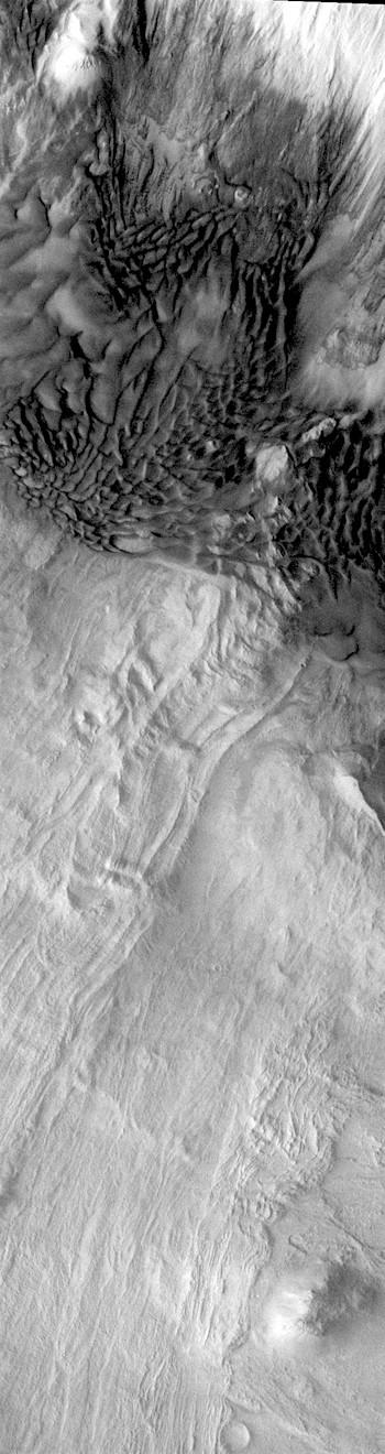 Swirled dunes in Melas Chasma (THEMIS_IOTD_20171207)