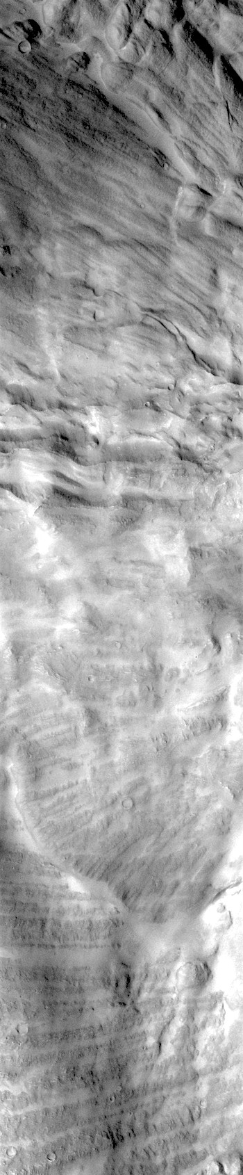 Landslide rubble in Candor Chasma (THEMIS_IOTD_20180116)
