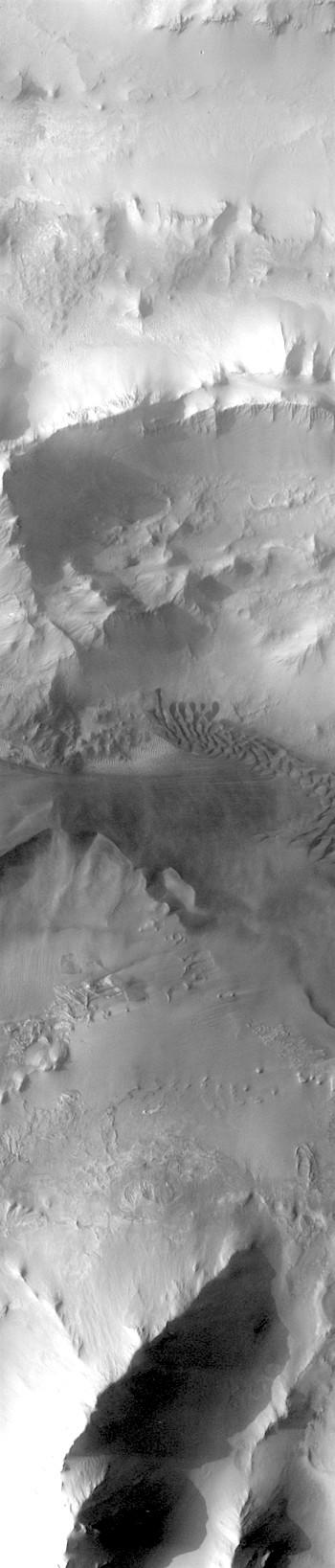 Dunes in Ius Chasma (THEMIS_IOTD_20180223)