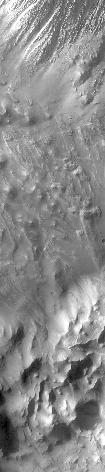 Hummocks on Tithonium Chasma floor (THEMIS_IOTD_20180207)