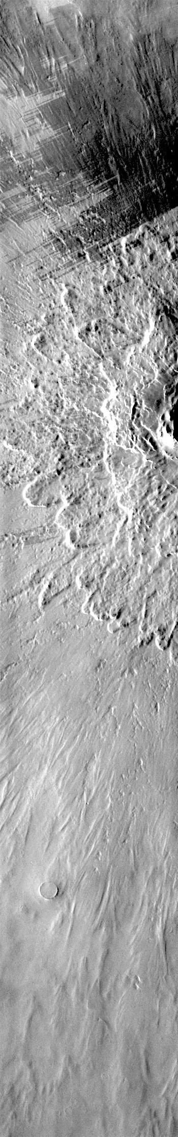 Blast zone around Lonar Crater (THEMIS_IOTD_20180507)