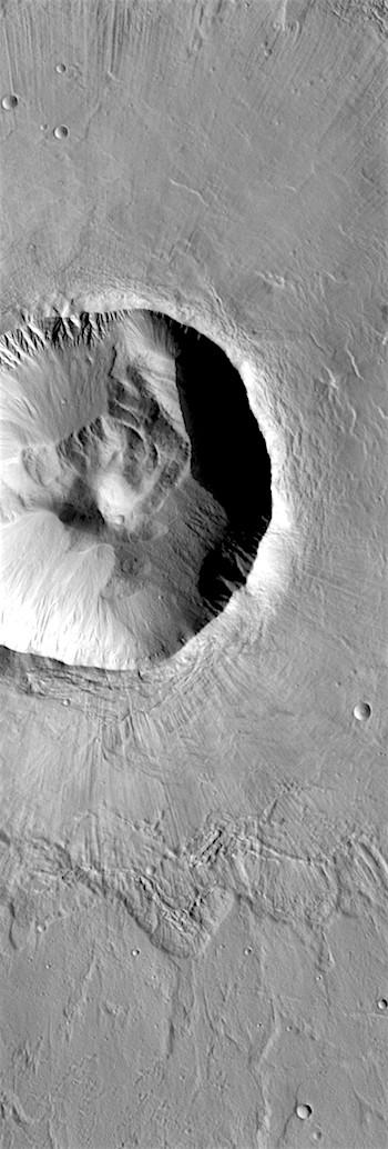 Utopia Planitia crater (THEMIS_IOTD_20180517)