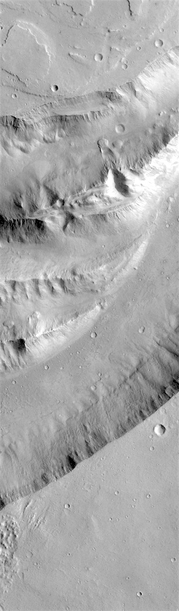 Divided channel in Shalbatana Vallis (THEMIS_IOTD_20180615)