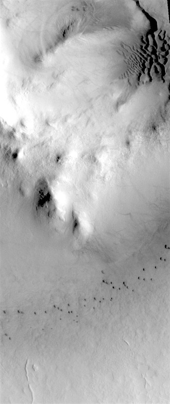 Milankovic Crater dunes (THEMIS_IOTD_20180604)
