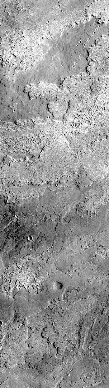 Daedalia Planum lava flows (THEMIS_IOTD_20180711)