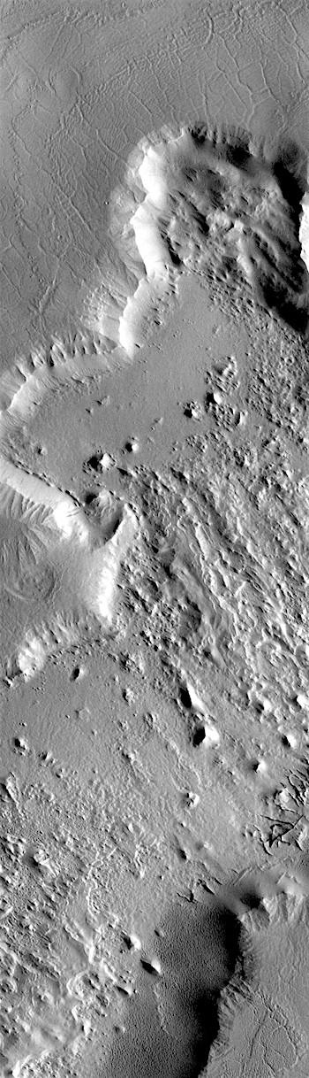 Many textures of Gordii Dorsum (THEMIS_IOTD_20180724)